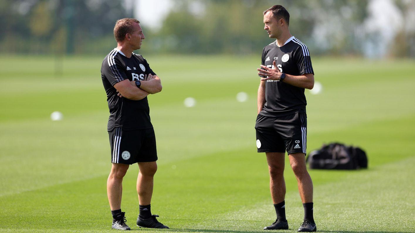 Brendan Rodgers & Chris Davies