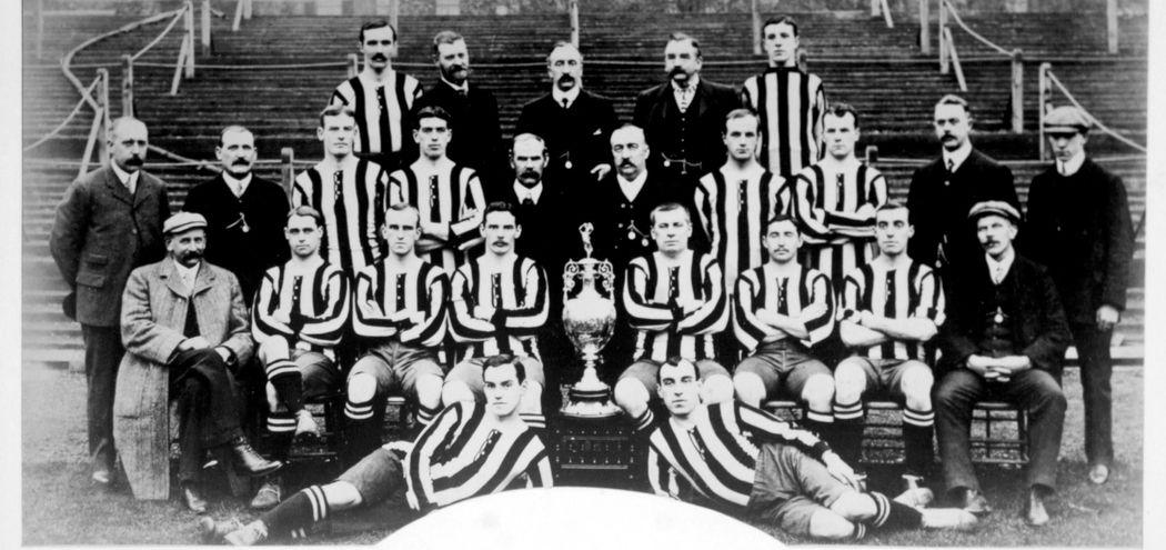 Newcastle United, 1905