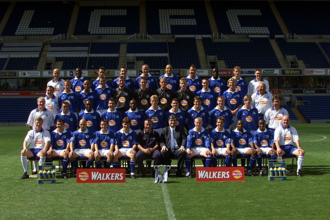 Leicester City 2000/01 squad photo