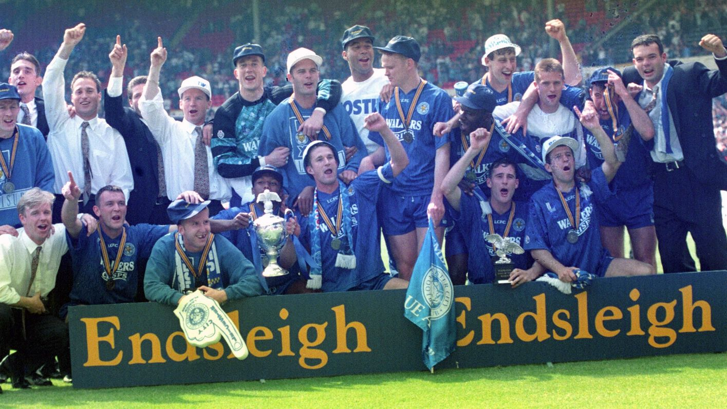Leicester City win the play-offs in 1994