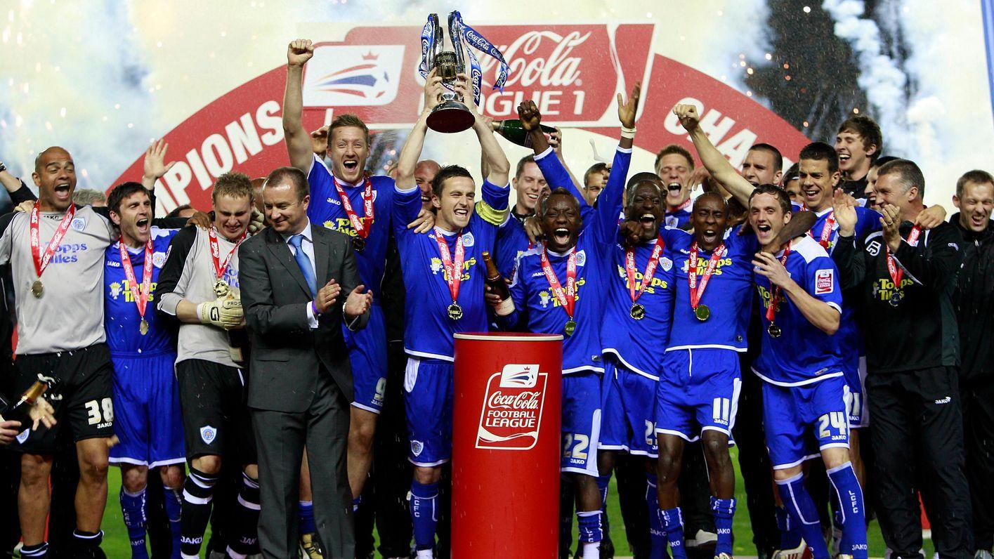 Leicester City win League 1
