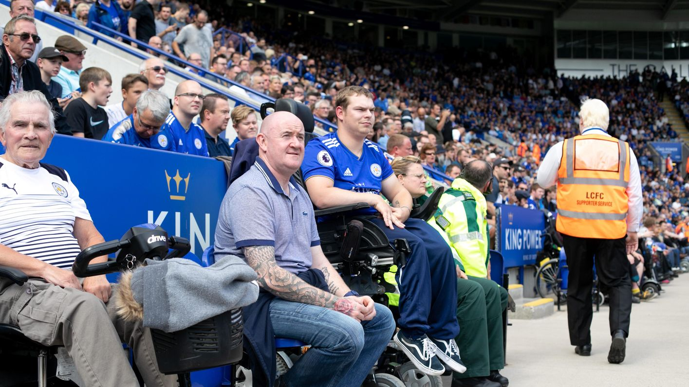 Supporters with a disability