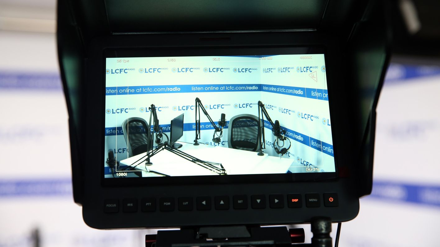 LCFC Radio studio