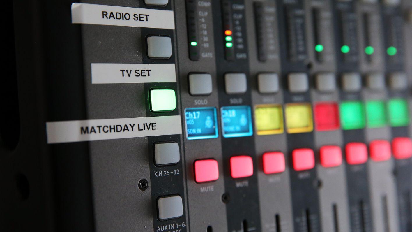 LCFC TV & LCFC Radio controls