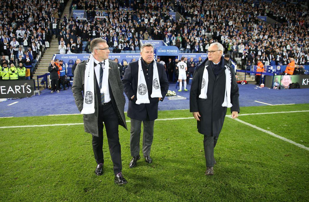 Nigel Pearson, Craig Shakespeare & Claudio Ranieri